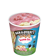 Love Is... Topped Dessert Ice cream