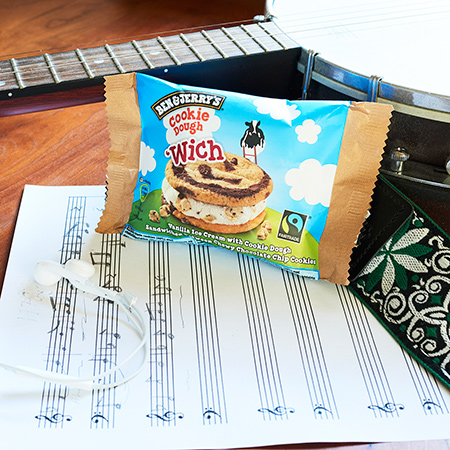 Multitasking med Ben & Jerry's 'Wich - Skriv en hit-single